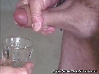 Drink up the nasty cumslut
