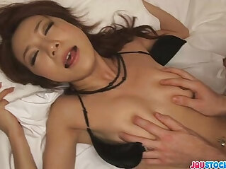 Charming Japanese milf fucked from behind