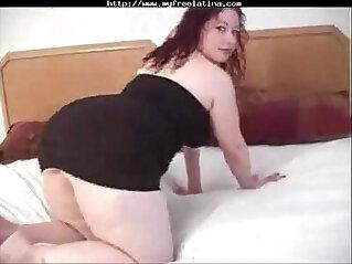 bbw Latina gets her anal
