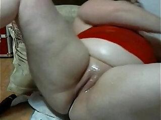 bbw from masturbating creamy wet pussy