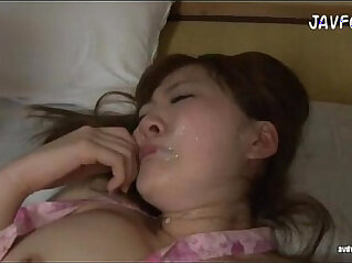 Momoka was assaulted and facialized. Full hd video