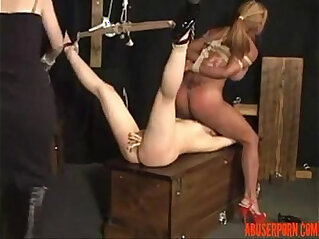 Freaky sex with the sex slaves free lesbian porn