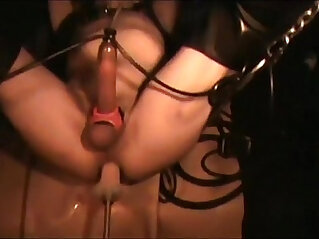 young man gets fuck machine ride Porn Video JerryGumby