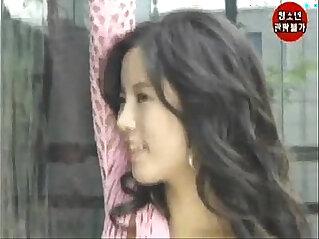 Korean big boobs Han Ye in nude