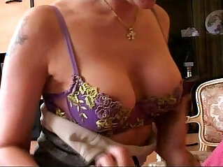 Hot French mom fucked real hard by a young stud
