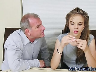 Teen dominated and fucked