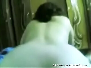 Arab wife moaning with pleasure while hubby