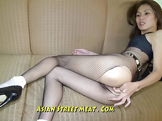 Skin Tight Thai Leggings Demands Ass Fucking