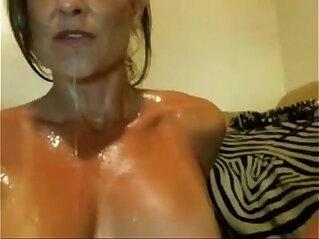 Brazilian MILF masturbates until she squirts taken from