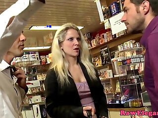 Euro shoplifter punished with dp