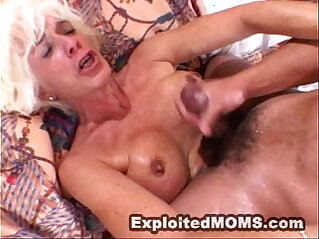 Mom gets used and abused by a big black mamba cock in Hot Mature Video