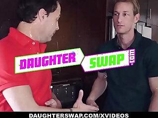 DaughterSwap Teens Free the Nipple