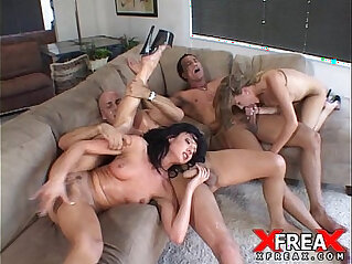 Great Foursome with Mia and Eva Rose