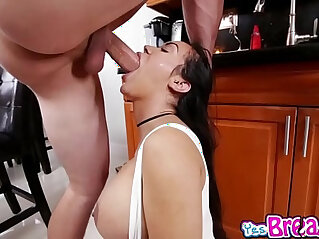 Fake tits Puerto Rican Emily Meana fucked doggystyle