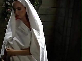 Busty lesbian nun fingered in religious jail