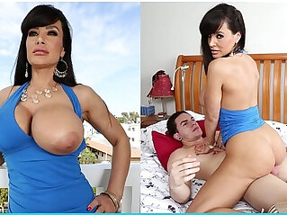 Busty MILF Lisa Ann Gets Her Big Ass Fucked Right