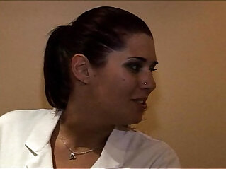 Interracial Two French bitches, Talia and  works in a massage parlor