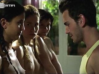 Sofia aparicio joana metrass sara carinhas e cecilia henriques em topless no filme e o tempo