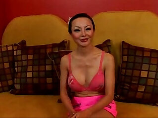 Asian Ange Venus takes it up the ass