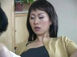Asian with dildo salesman