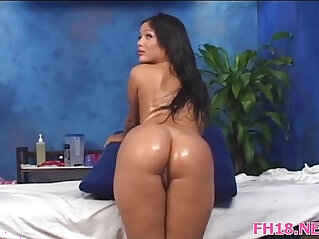 Gorgeous 18 year old beauty her pussy fucked really hard