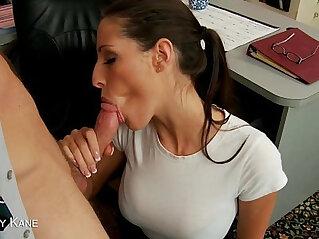Sexy Kourtney Kane suck a big cock